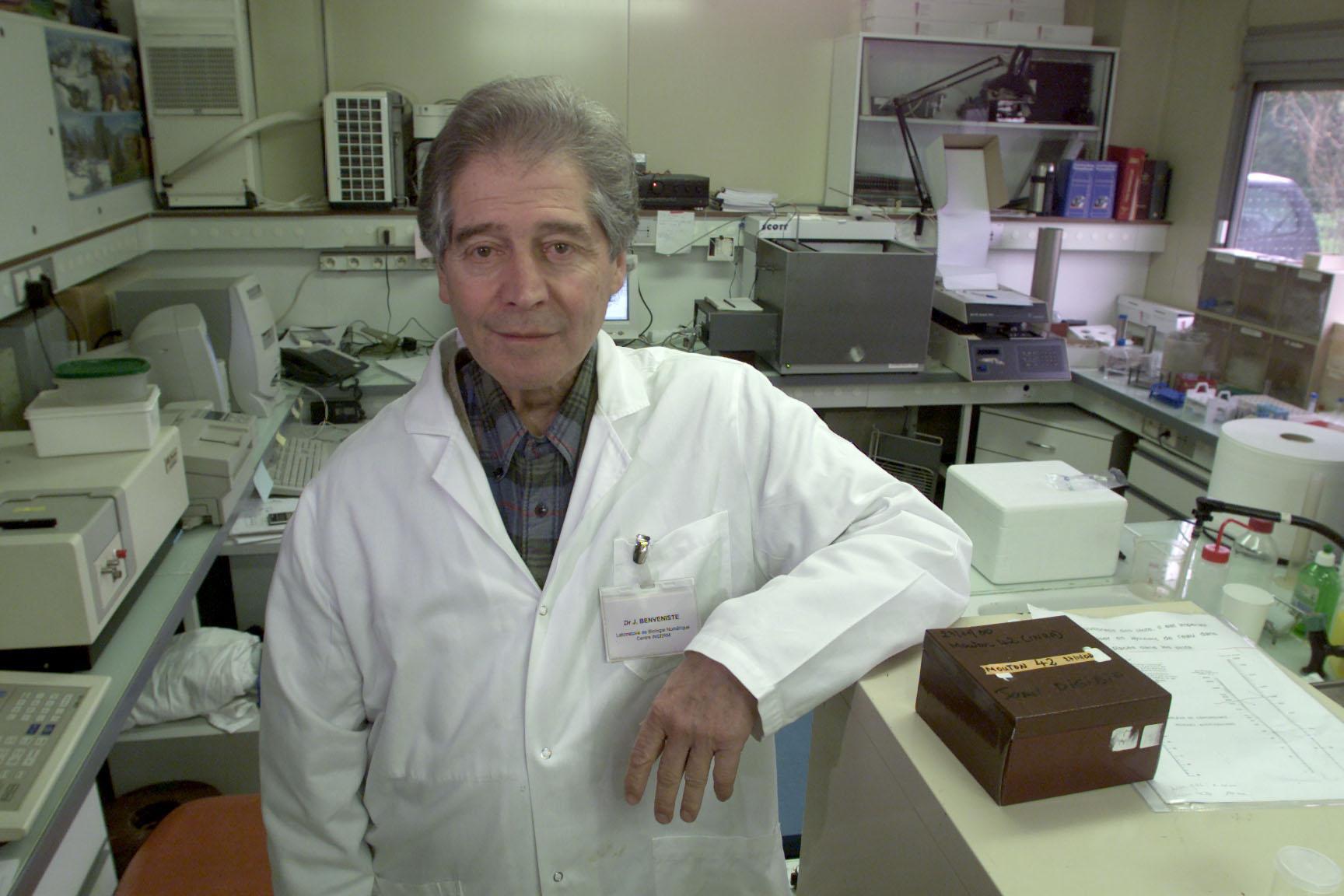 prof dr jacques benveniste