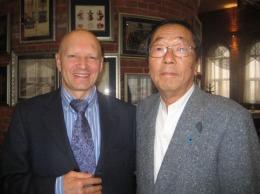 prof dr konstantin korotkow wraz z dr masaru emoto